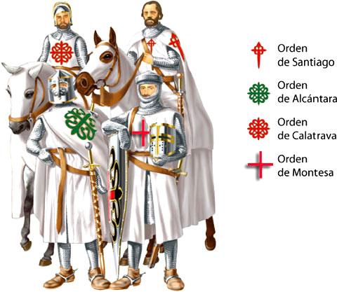 Las órdenes militares españolas en la Edad Media