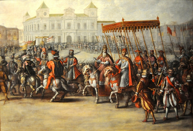 Carlos V y Clemente VII